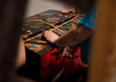 """Photographie d'une partie de jeu de la malle de l'énigme éphémère """"le trésor de Pedrosa"""" de fug game live escape Besançon"""